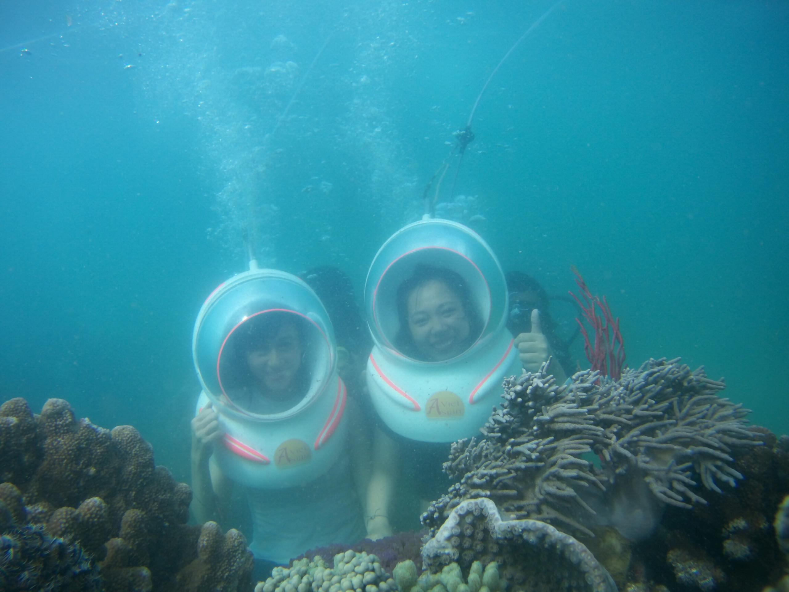 Tour đi bộ dưới biển Nha Trang