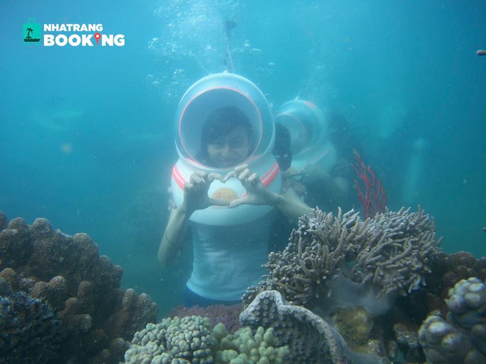 Tour đi bộ dưới biển