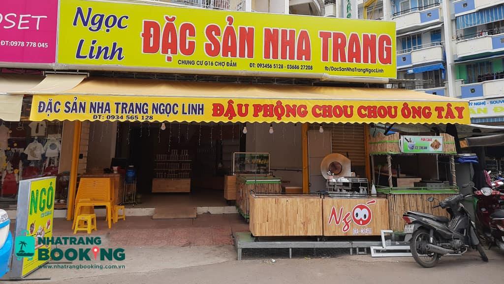 đậu phộng Chou Chou Ông Tây nha trang